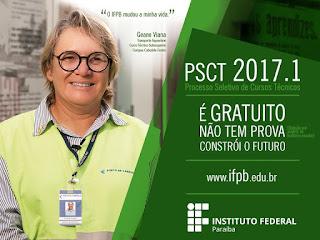 PSCT 2017: IFPB divulga lista com 22.800 inscritos