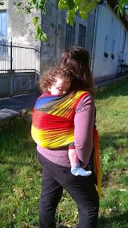 louer porte-bébé fly écharpe wrapsody location essayer jersey