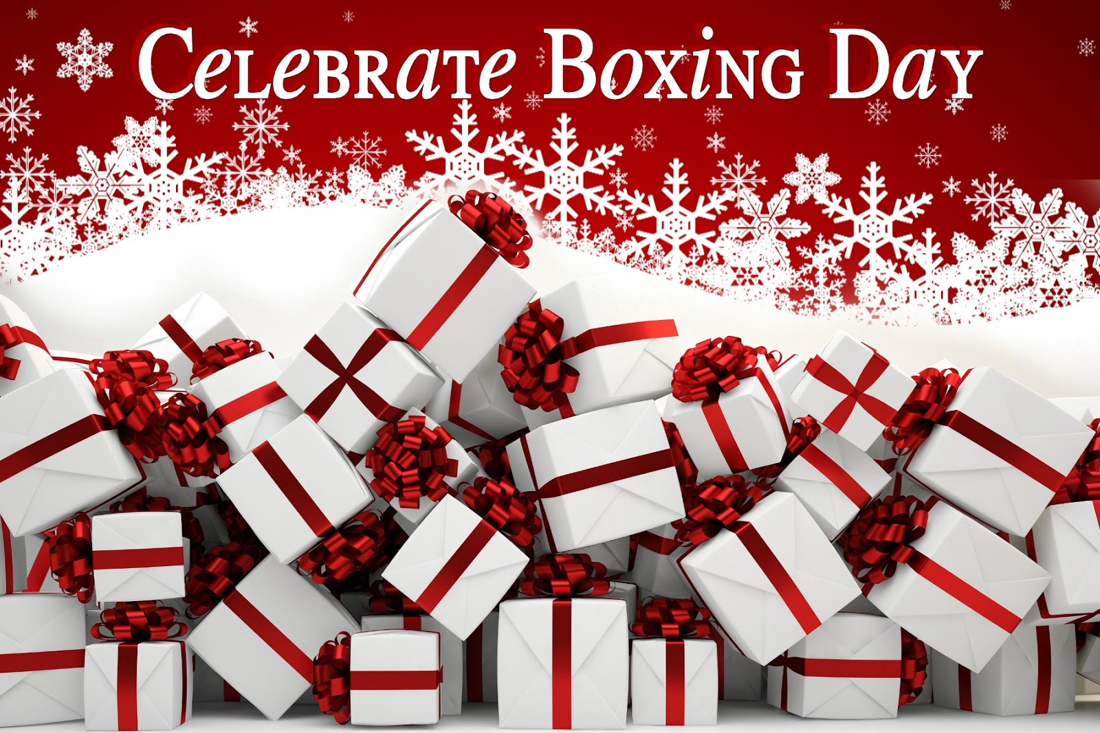 Joan Reeves: Celebrate Boxing Day Boxing Day