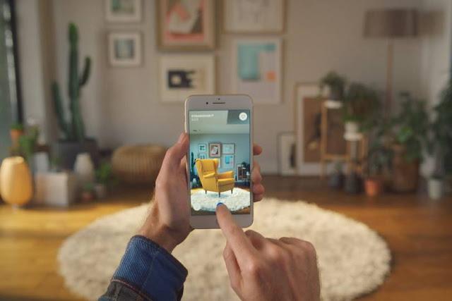 ikea crea una aplicacion para moviles que puedes visualizar como se veran tus muebles en tu hogar.