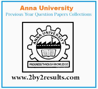 Anna University CSE Previous Year Questions Papers PDF Download