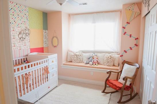 dormitorio decorado para bebé