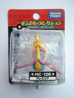 Cresselia Pokemon Figure Takara Tomy Monster Collection MC series
