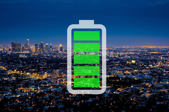 Los Angeles put the batteries: one megabatería for the extra electricity in summer