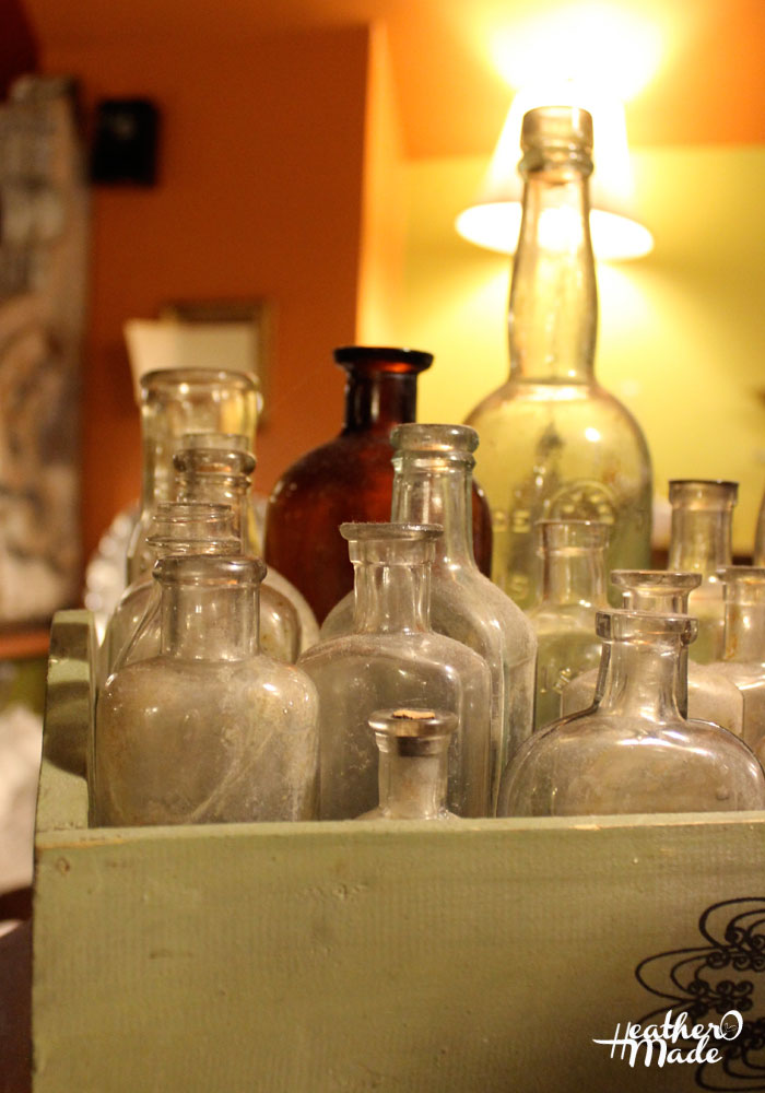 eclectic bottles. heatheromade