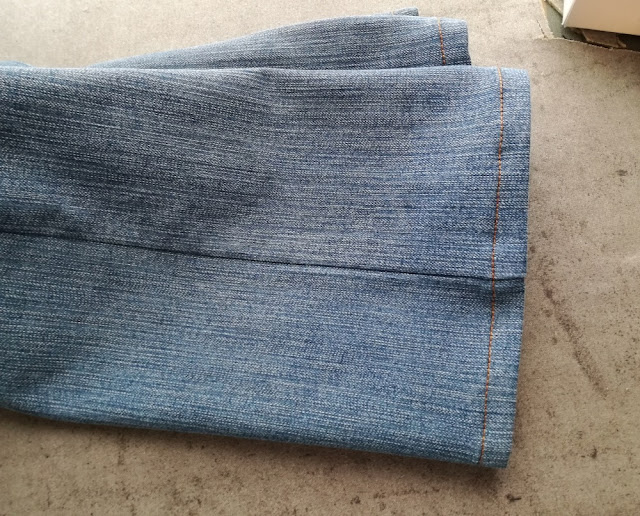 alteration on jeans legs craftrebella