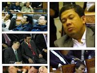 Fahri Hamzah : Dilarang Ambil Foto Saya Dan Anggota DPR Yang Tidur Saat Paripurna