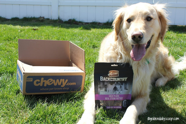 chewy.com review-merrick-backcountry-dog-treats