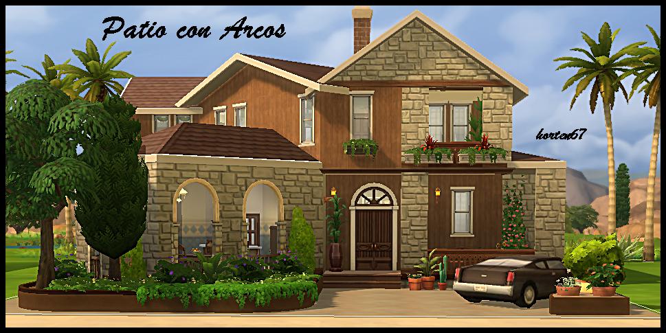 Mis casas y mas con los Sims 4 - Página 18 Arcos