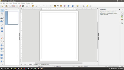 Libre Office Draw Running on Windows 10