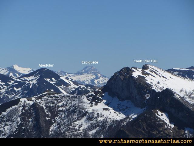 Ruta Belerda-Visu La Grande: Vista del Abedular y Canto del Oso