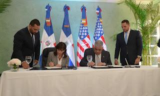 Ministerio de Relaciones exteriores y la embajada de los Estados Unidos firman acuerdo