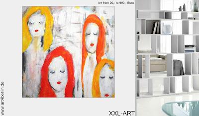 Zeitgenössische Kunst, junge Berlin-Kunst, großformatige Leinwandmalerei günstig kaufen!