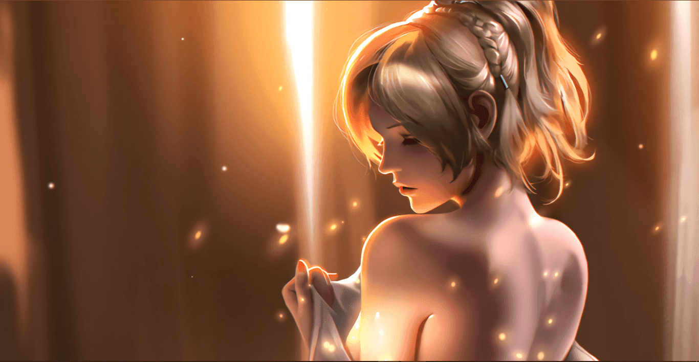 Lunafreya [Wallpaper Engine Anime]
