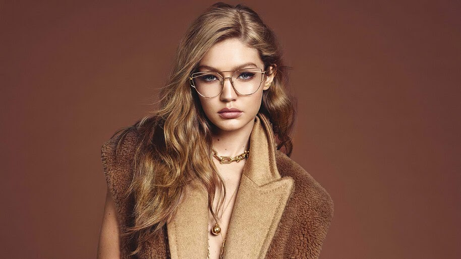 Gigi Hadid, Glasses, Model, 4K, #4.2546