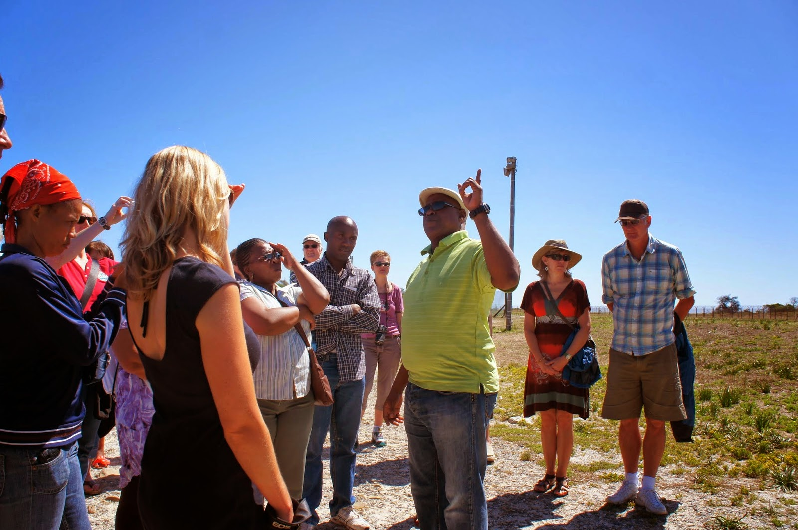 Robben Island - Our tour guide was a former inmate