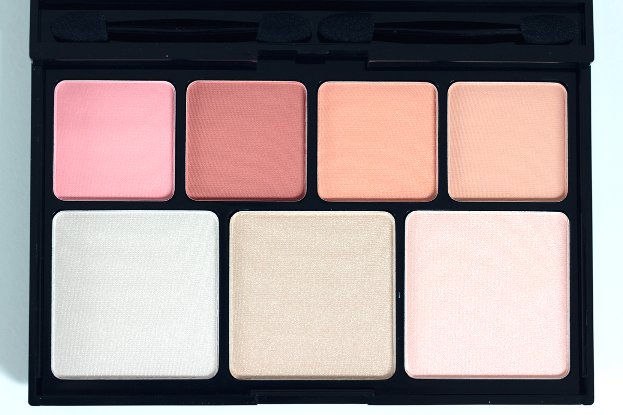 NYX blush and highlighter palette