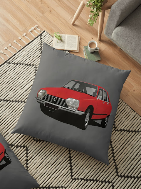 Citroën GS pillow