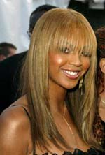 Pleasing Beyonce Knowles Hairstyle Blondelacquer Short Hairstyles For Black Women Fulllsitofus