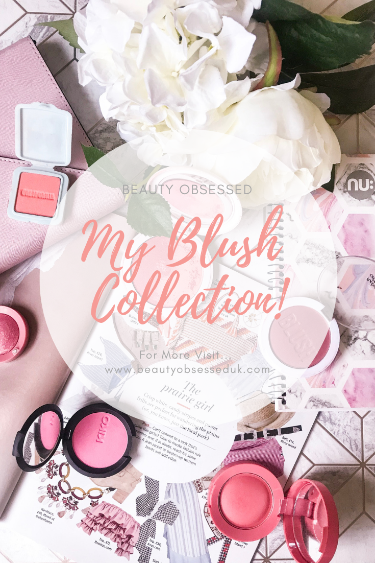 my blush collection pinterest graphic
