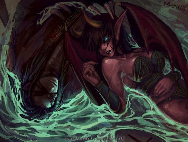 Суккуб и врубелевский демон