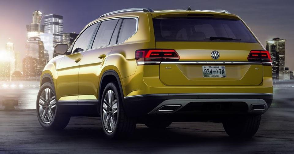 Volkswagen Atlas Priced Between $30,500 And $48,490