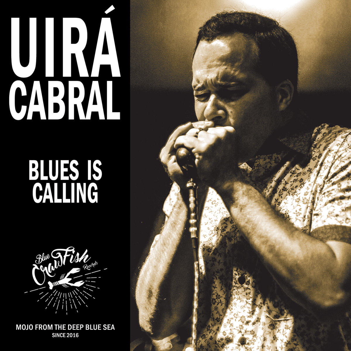 Escutem Blues is Calling do Uirá Cabral