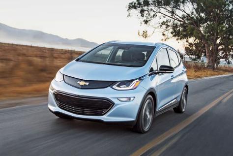 2018 Chevrolet Bolt EV Review