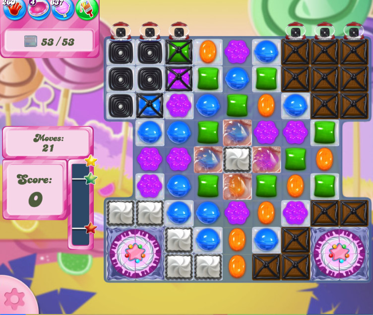 Candy Crush Saga level 2611