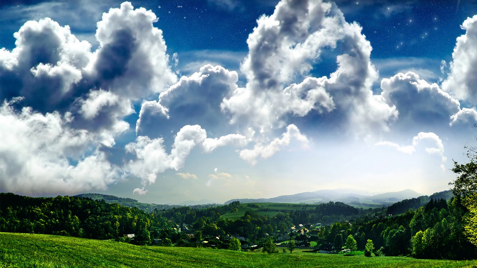 Sky Cloud Wallpapers Hd: Hd Wallpapers For Desktop: Sky Cloud Wallpapers Hd