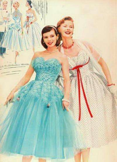 1956 Prom Dresses