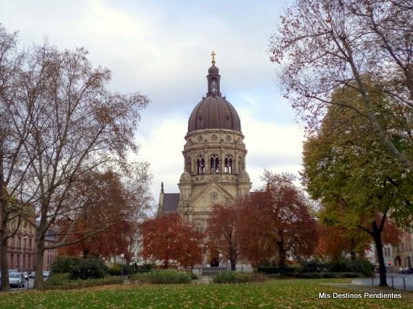 Christuskirche - Iglesia de Cristo (Maguncia, Alemania