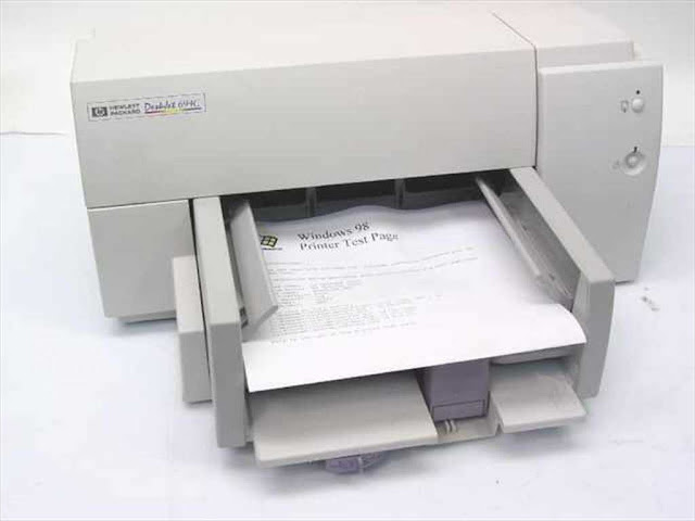 HP DeskJet 690C, 692C, 693C 694C Printer Driver