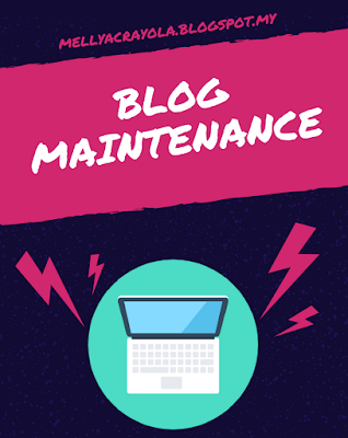 Blog Monthly Maintenance - May 2017