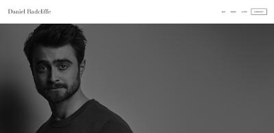 Last Google+ post: Daniel Radcliffe's official website launch