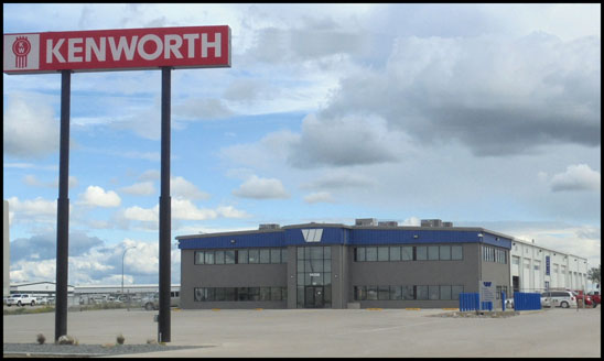 New Wallwork Kenworth – Williston  North Dakota dealership