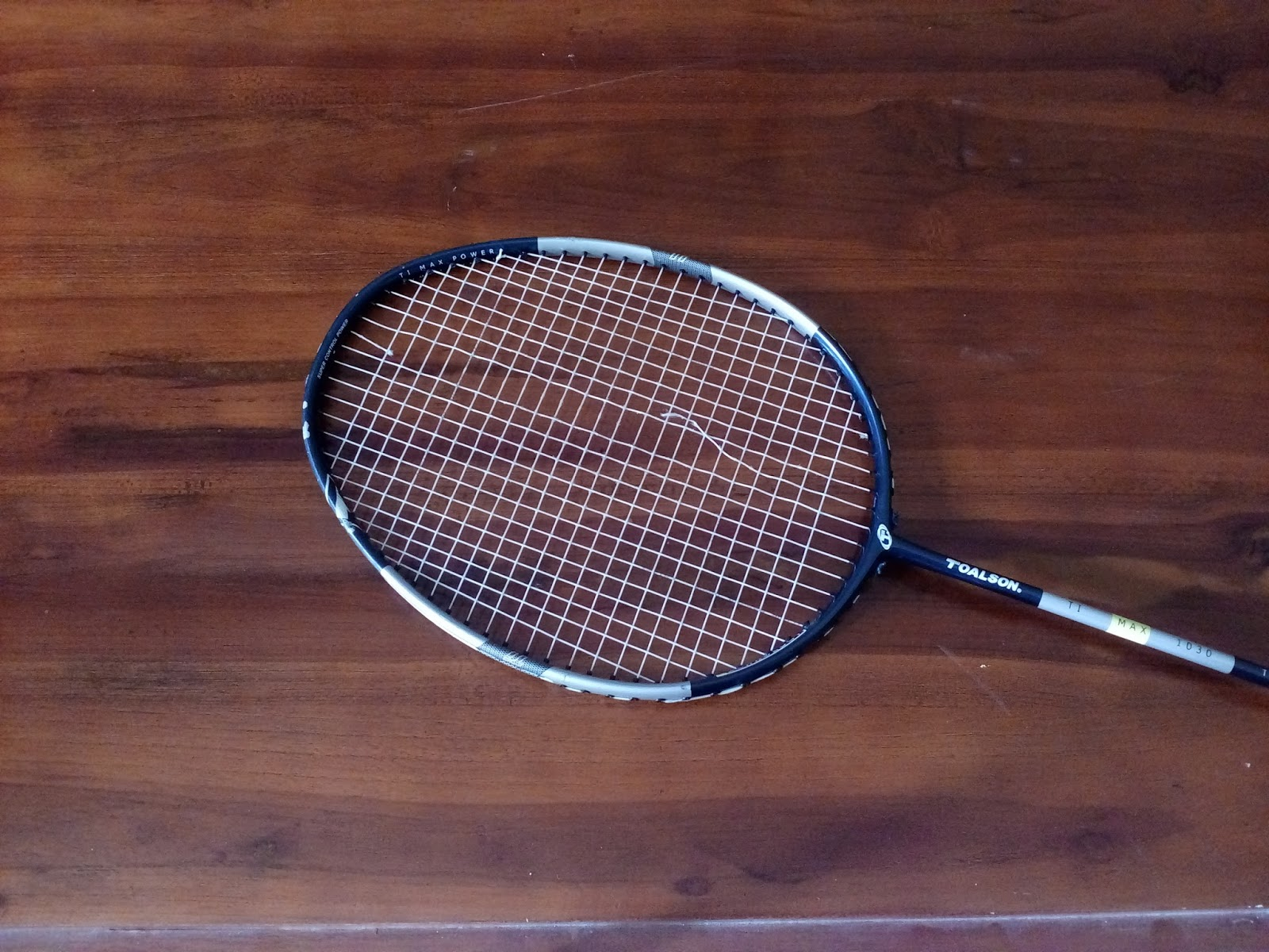 When We Are In A Game Of Badminton And The Racket Strings Suddenly Broke Is Normal Thing However Many People Make Mistake Removing Broken