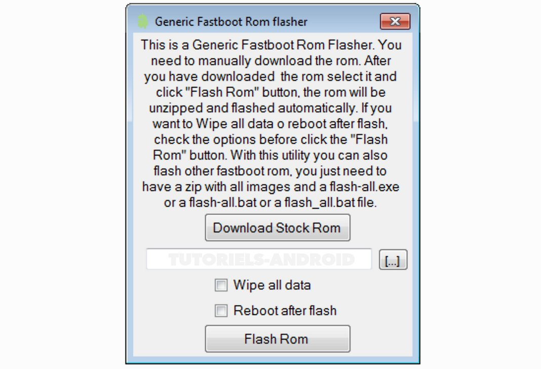 AIO : Generic Fastboot ROM Flasher