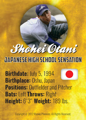 This Card Is Cool My Life In Baseball Cards Shohei Ohtani
