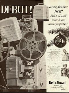 Documentales antiguos caseros - proyector