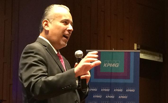 Jesús González, socio líder de Asesoría en Desarrollo Sostenible de KPMG, presentó el informe Desarrollo Sostenible en México 4.0
