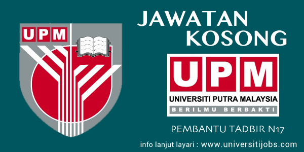 Jawatan Kosong Universiti Putra Malaysia Terkini 2016 Fakulti Pertanian UPM