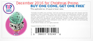 Baskin Robbins coupons december