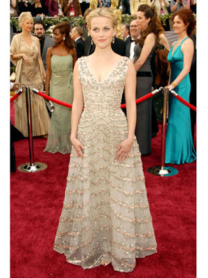 LouLous Vintage Fair And The Oscar Goes ToReese Witherspoon Oscar 2006