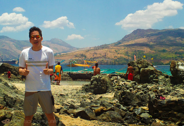 On the Parola Island of Subic - a breathtaking view indeed!