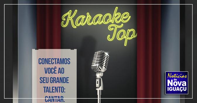 06995b023a Karaoke Top agita o TopShopping. InícioNova IguaçuBaixada Fluminense