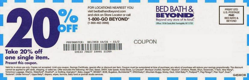 When Was The Very First Bed Bath Beyond Coupon