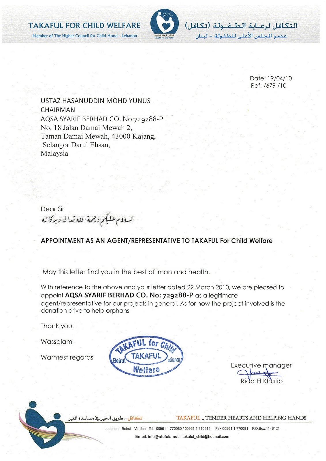 contoh cover letter di malaysia