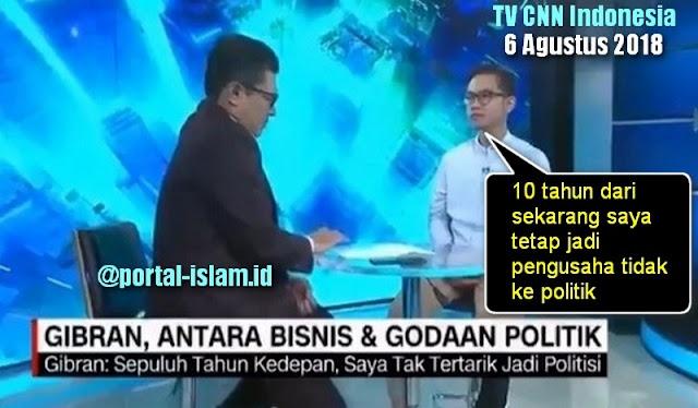 Anak Jokowi, Gibran Rakabuming Raka mengajukan dirinya jadi calon walikota Solo. Dia super ngotot untuk maju, walau PDIP Solo sudah menutup pintu untuk Gibran karena sudah membuat keputusan bahwa yang diajukan sebagai cawalkot adalah Achmad Purnomo