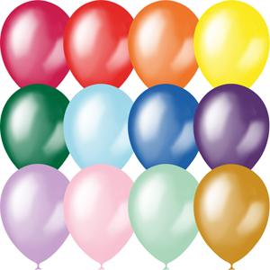 Воздушные шарики металик